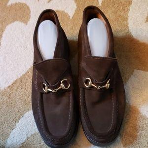 Mens Gucci horsebit Loafer bootie